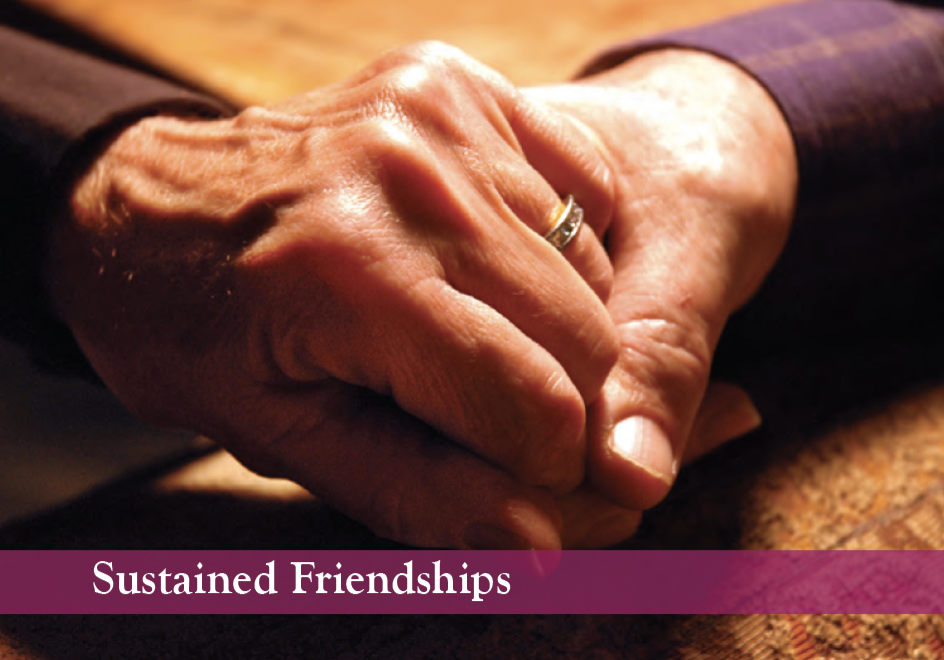 Sustained friendships envisioning card